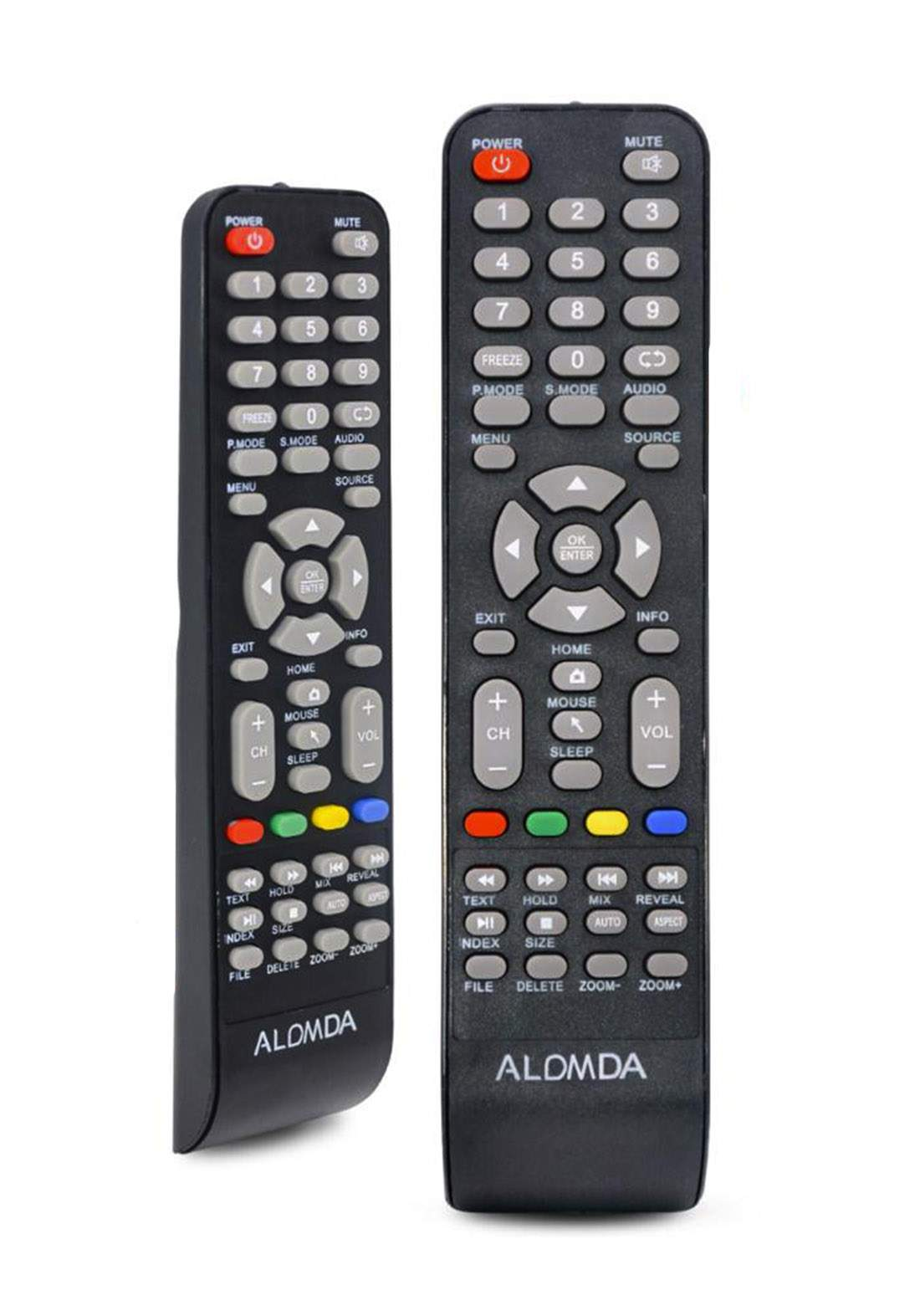 Remote Control For Alomda Plasma TV (A-736) جهاز تحكم عن بعد