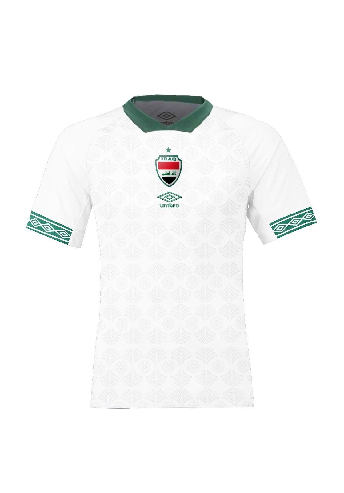 قميص المنتخب العراقي الرسمي - ابيض