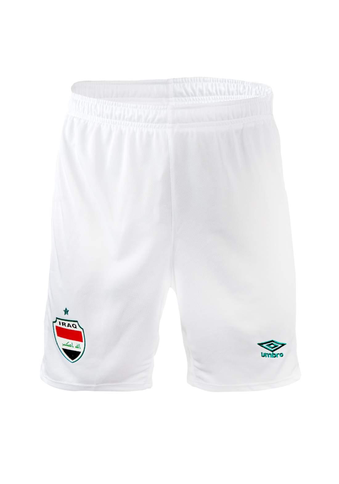 شورت المنتخب العراقي الرسمي - ابيض