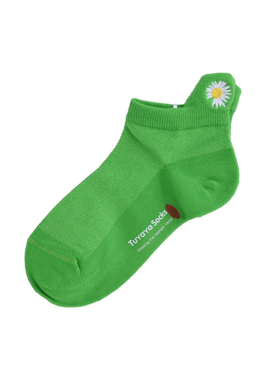 Tuyaya جوراب اطفال اخضر اللون من