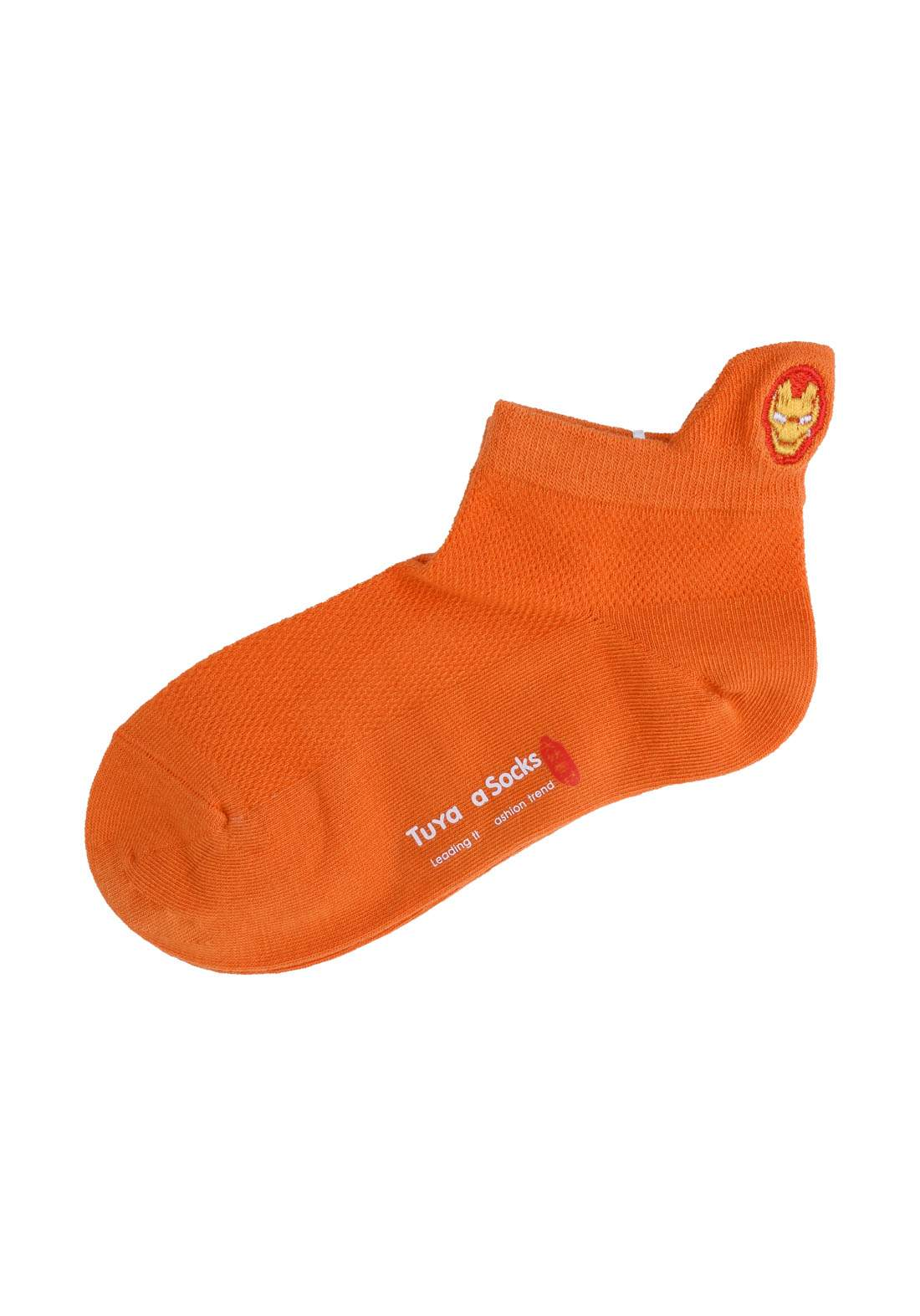 Tuyaya جوراب اطفال برتقالي اللون من