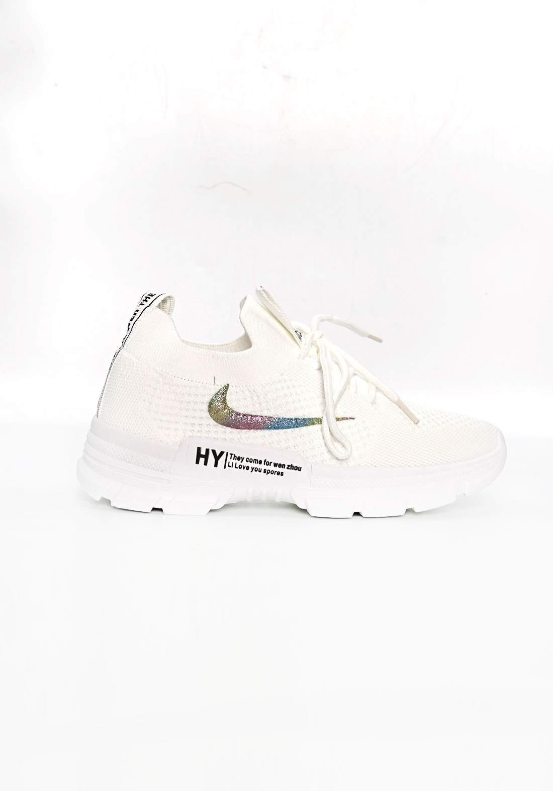 حذاء قماش رياضي نسائي