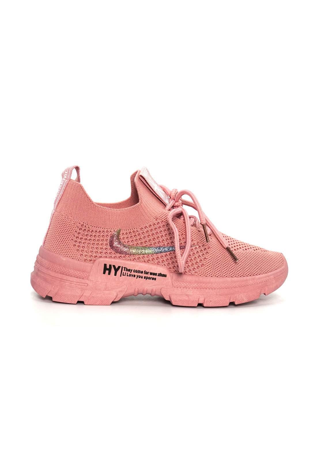 حذاء قماش نسائي رياضي