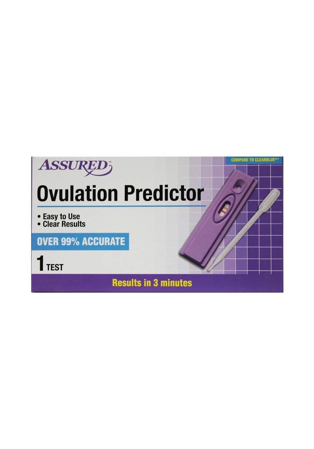 Assured Urine Ovulation Predictor جهاز إختبار