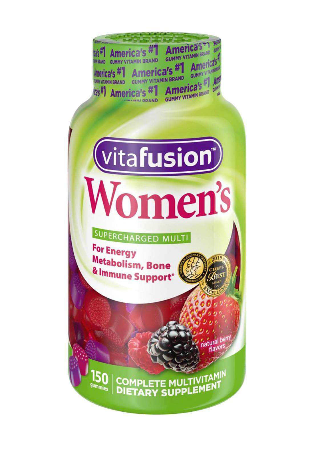Vitafusion Women's Multivitamin Gummies 150 Gummies مكمل غذائي