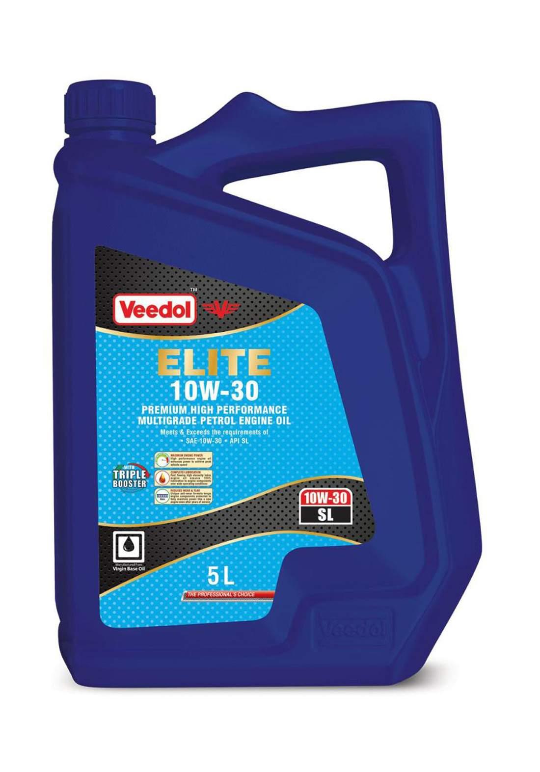 Veedol Elite 71104U29P00 10W-30 Engine Oil 5 L زيت محرك السيارة