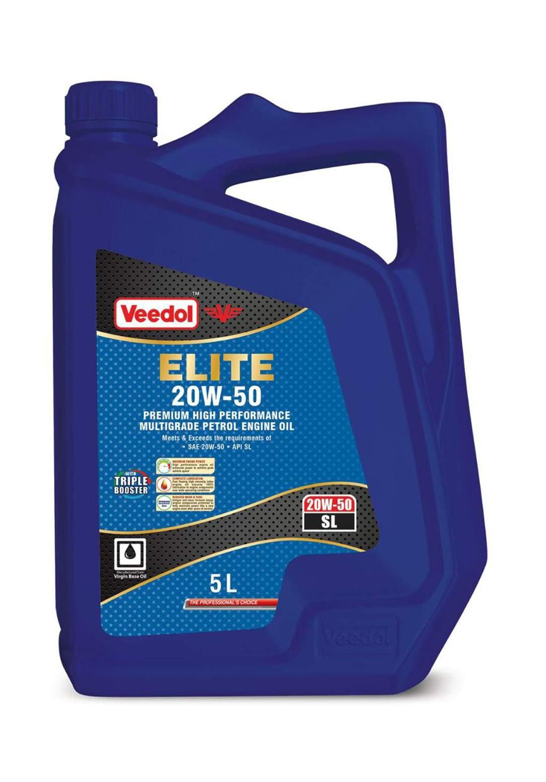 Veedol Elite 71101U29P00 20W50 Engine Oil 5 L زيت محرك السيارة