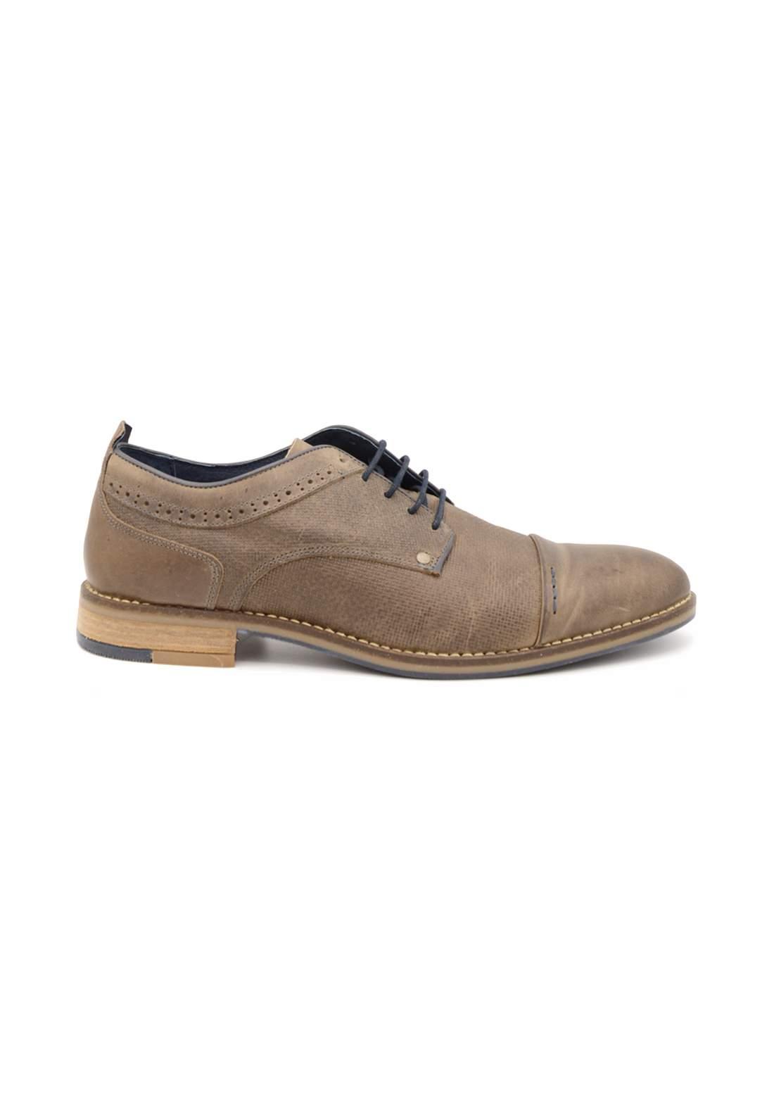 حذاء رجالي بني فاتح اللون من paulhunter