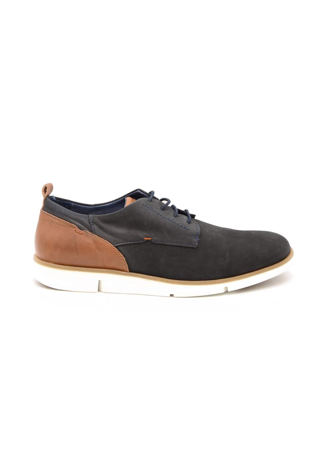 حذاء رجالي اسود وحني اللون من paulhunter