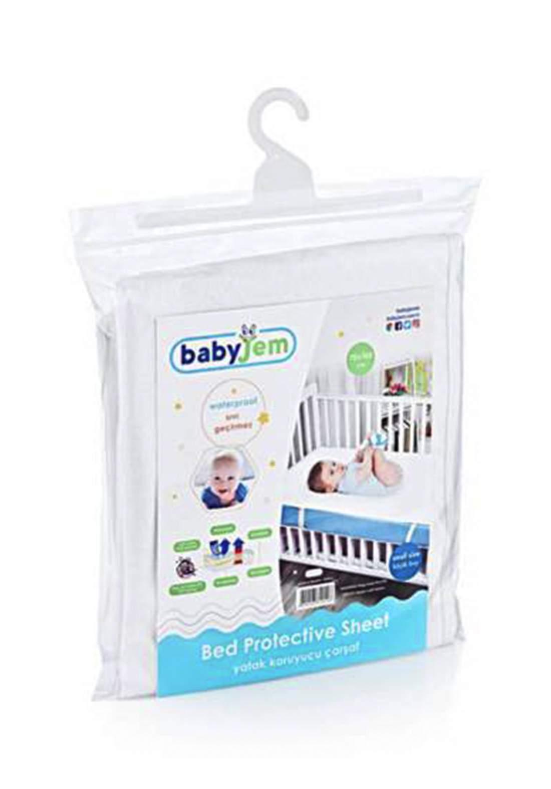 Babyjem 012 Bed Protective Sheet شرشف سرير مقاوم للماء للاطفال