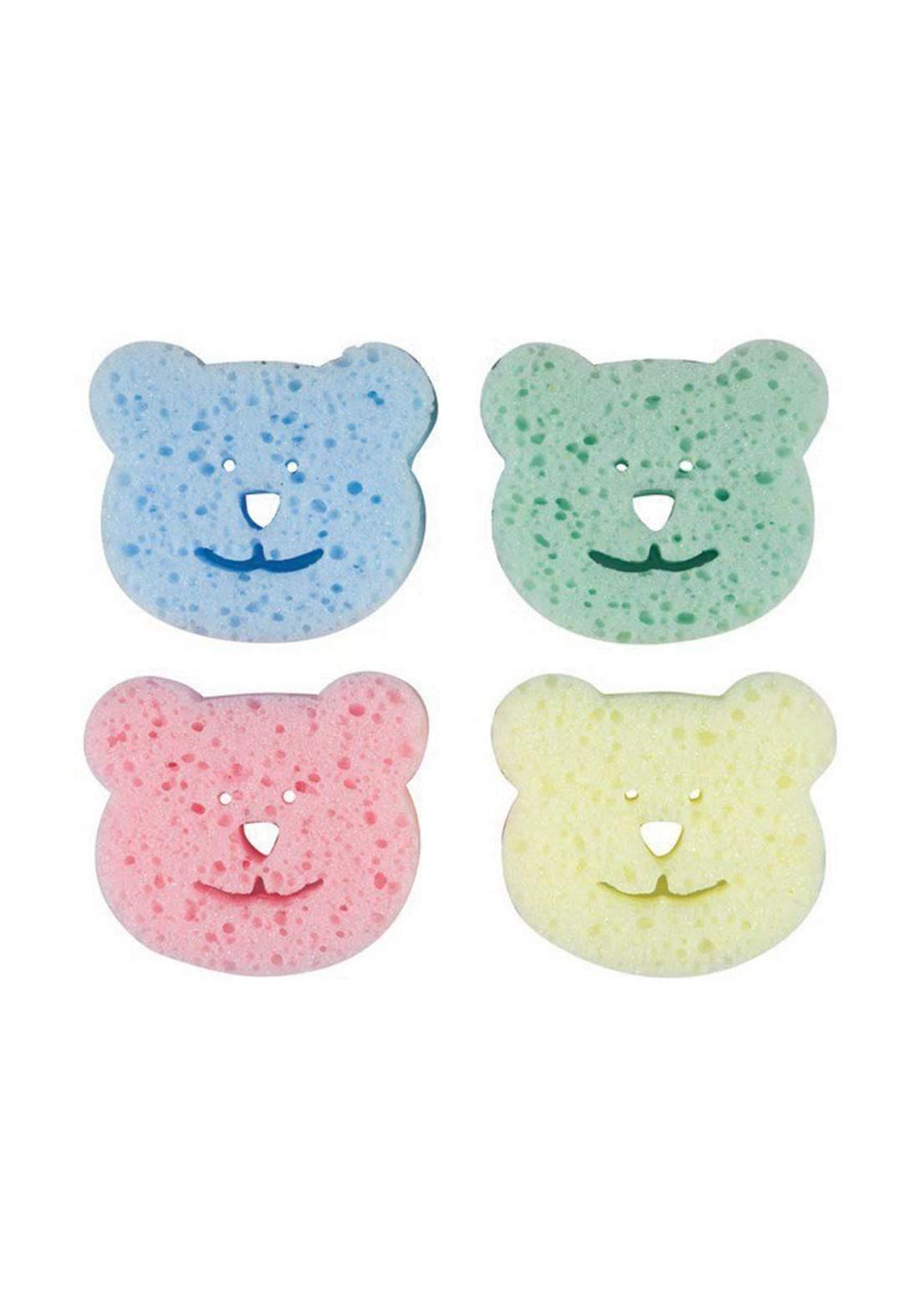 Bebedor 578 Baby Bath Sponge 4 Pcs  ليفة اسفنجية