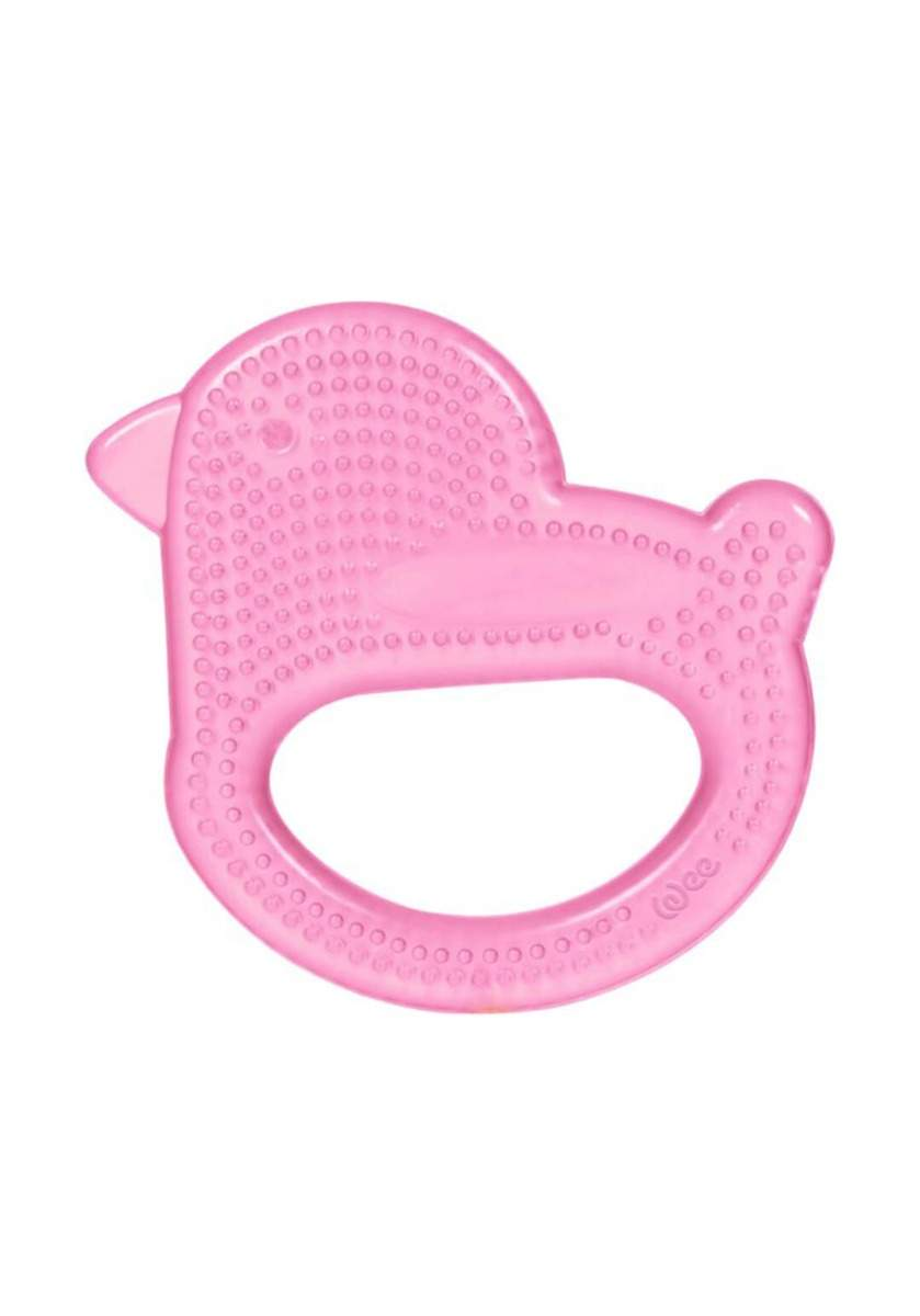 Wee Baby 859 Water Teether Bird Baby Pink عضاضة اطفال مائية