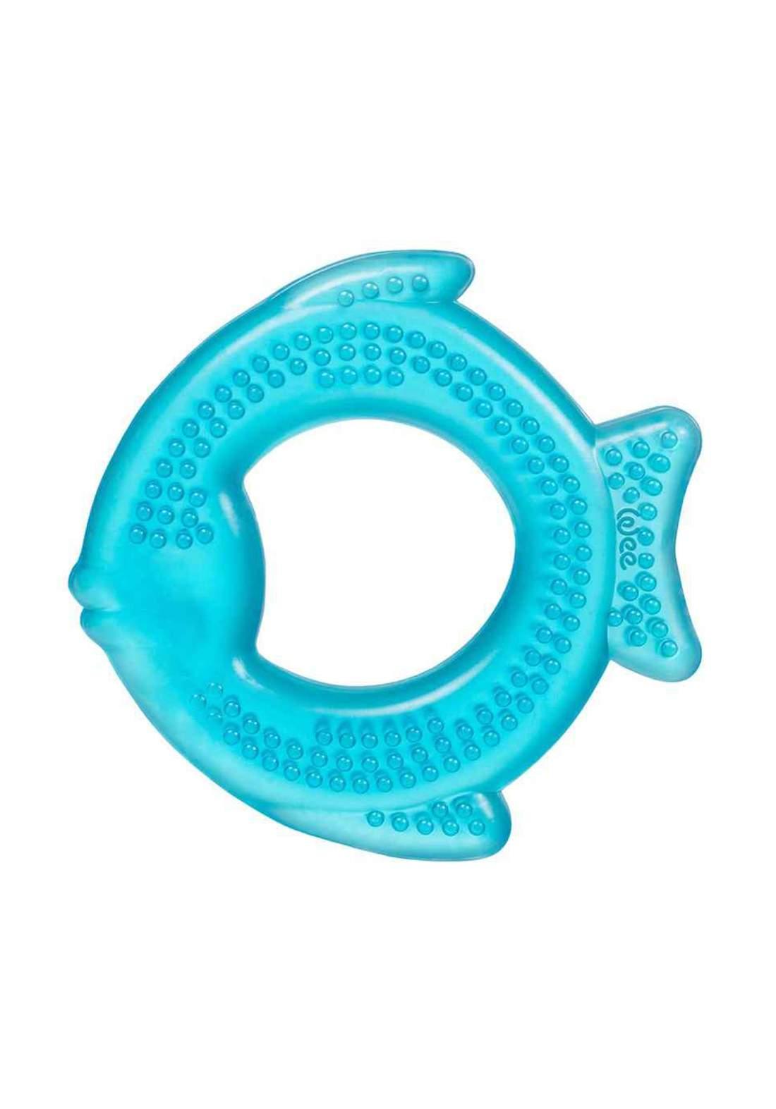 Wee Baby 859 Water Teether Fish Shape Blue عضاضة اطفال مائية