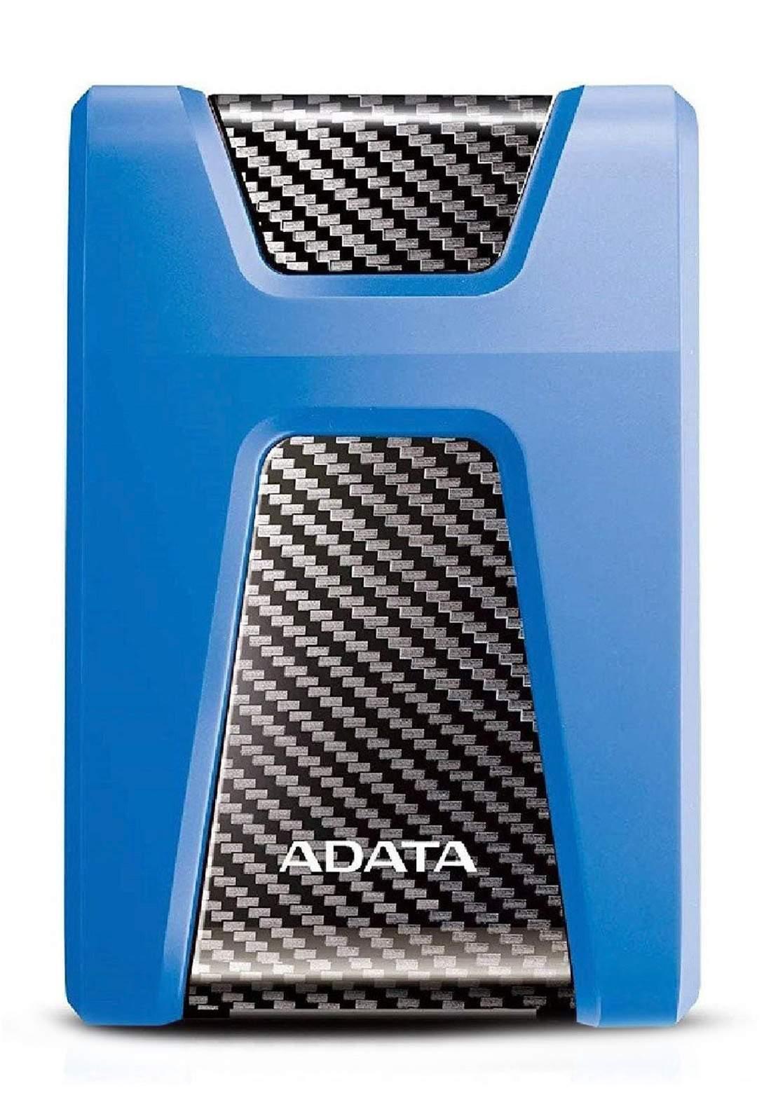 ADATA HD 650 External Hard Drive 2TB - Blue  هارد خارجي