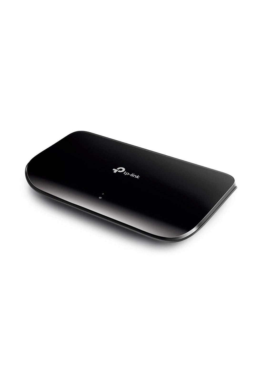 Tp-Link TL-SG1008D V8 8-Port Gigabit Desktop Switch - Black