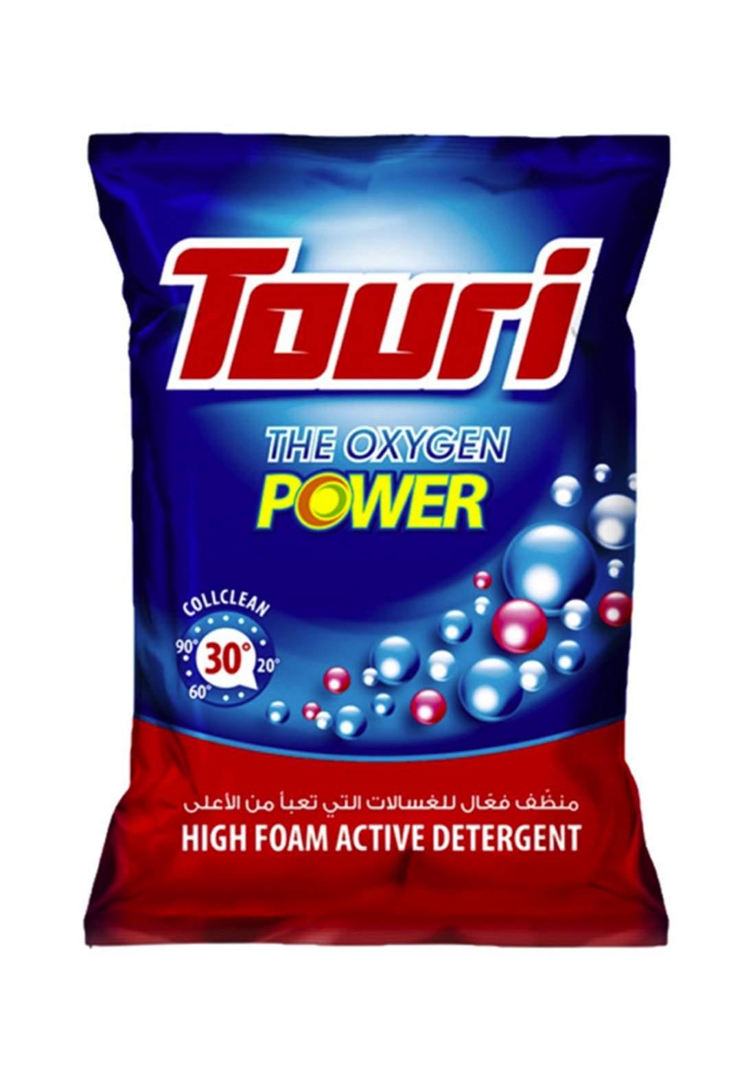 Touri The Oxygen Power  500 g مسحوق مزيل البقع الملابس البيضاء