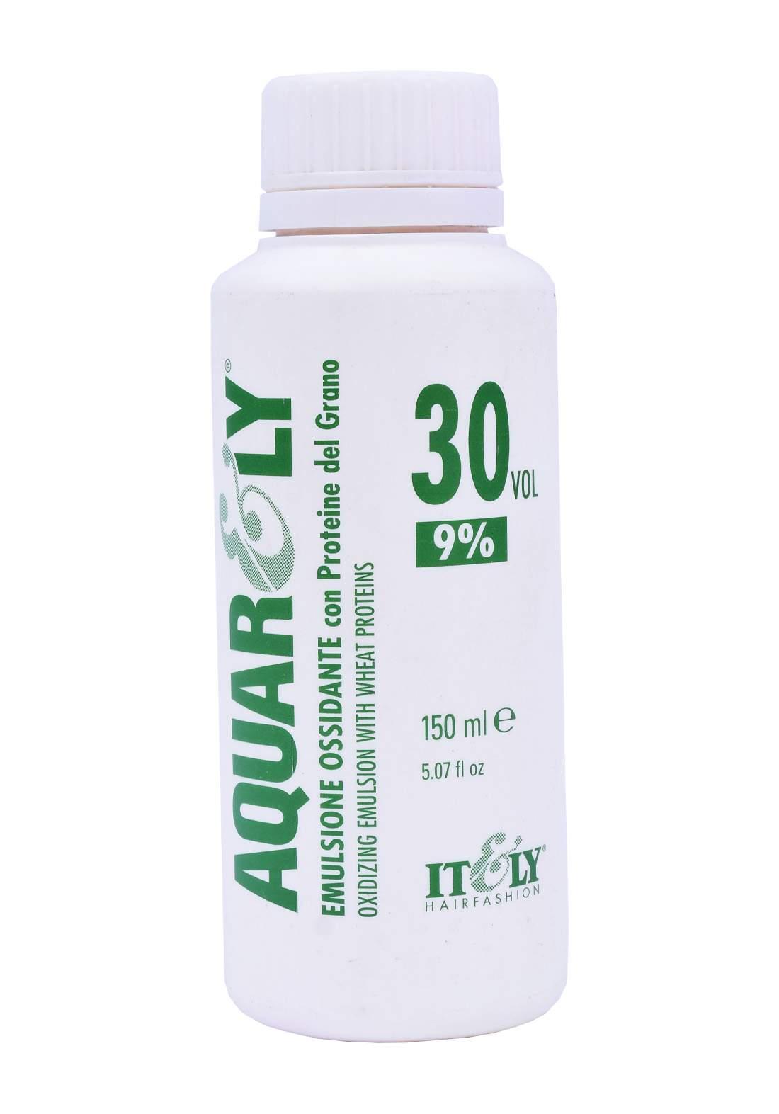 Aquarly Cream Oxidant 30VOL Cream 9% 150 ml كريم اوكسجين لصبغ