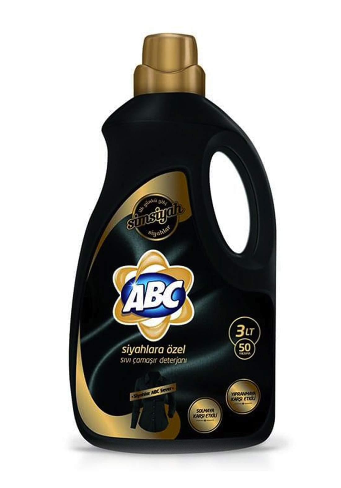 ABC Black Washing Liquid Detergent 3L  منظف سائل
