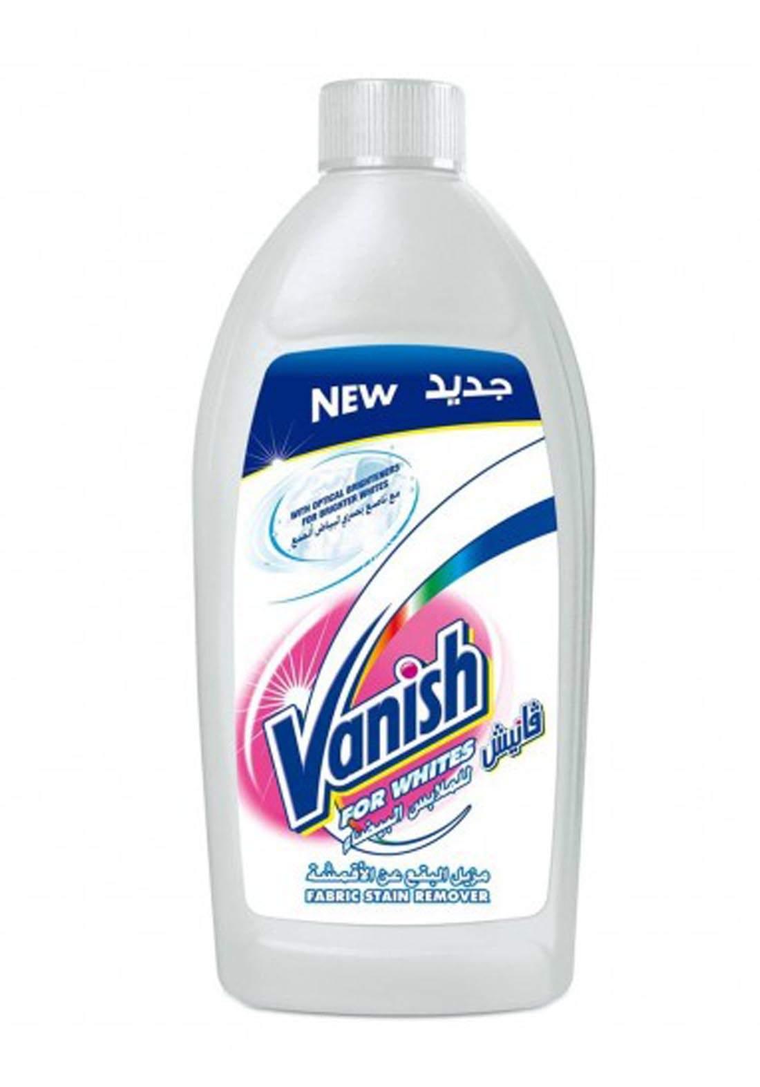 Vanish Liquid White Stain Remover 500ml  سائل مزيل البقع للملابس البيضاء