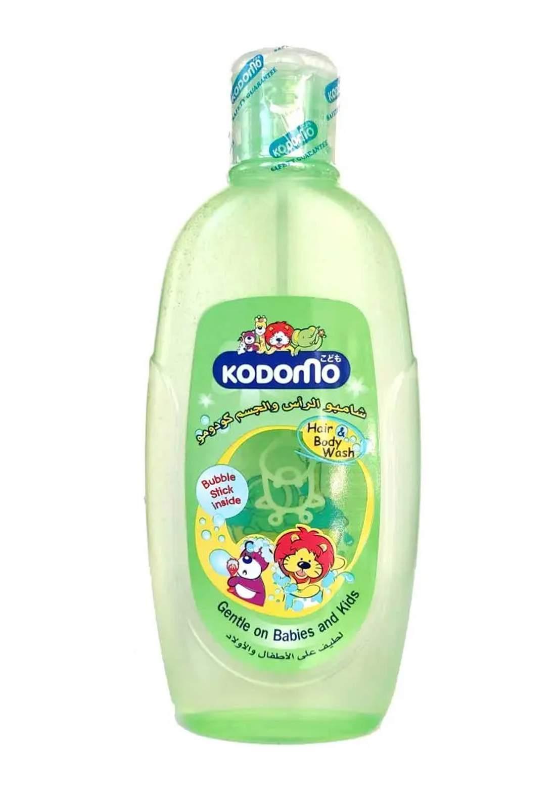 Kodomo Hair & Body Wash 200ml شامبو للاطفال