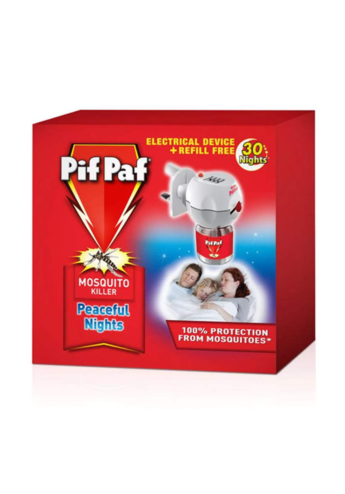 Pif Paf Liquid Mosquito Killer Device جهاز كهربائي لقتل البعوض