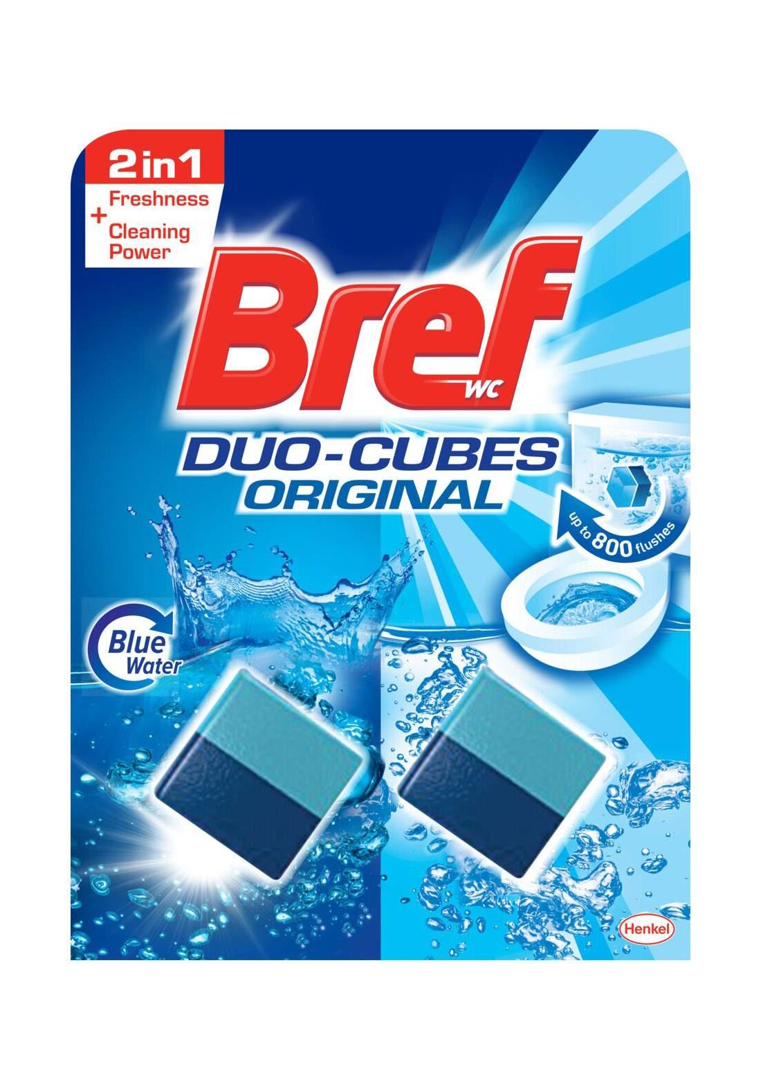Bref Duo Cubes In Cistern Toilet Cleaner, 2 x 50g مكعبات تنظيف المراحيض