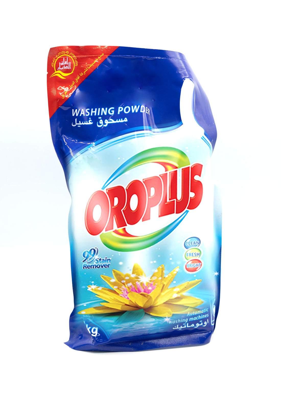 Oroplus Washing Powder Stain Remover 1 Kg مسحوق غسيل