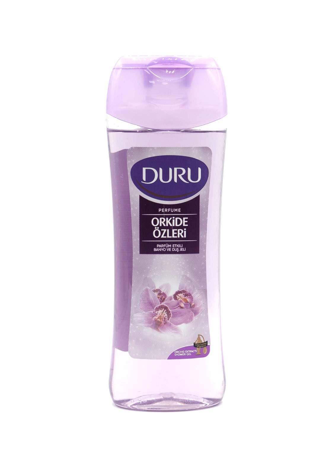 Duru Orchid Extract Perfume Shower Gel 450ml سائل استحمام