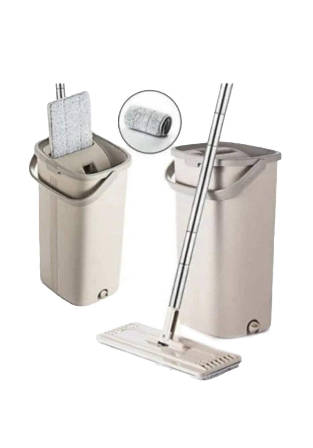 طقم ممسحة ودلو للتنظيف متعدد الاستخدام حجم كبير