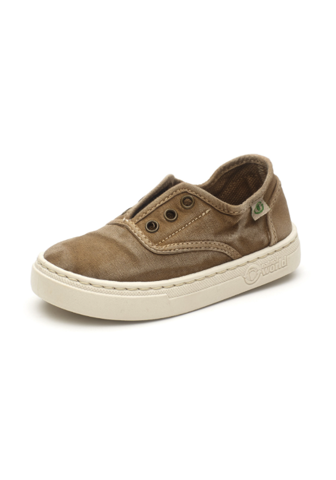 World Natural Eco حذاء كاجول بيجي اللون من