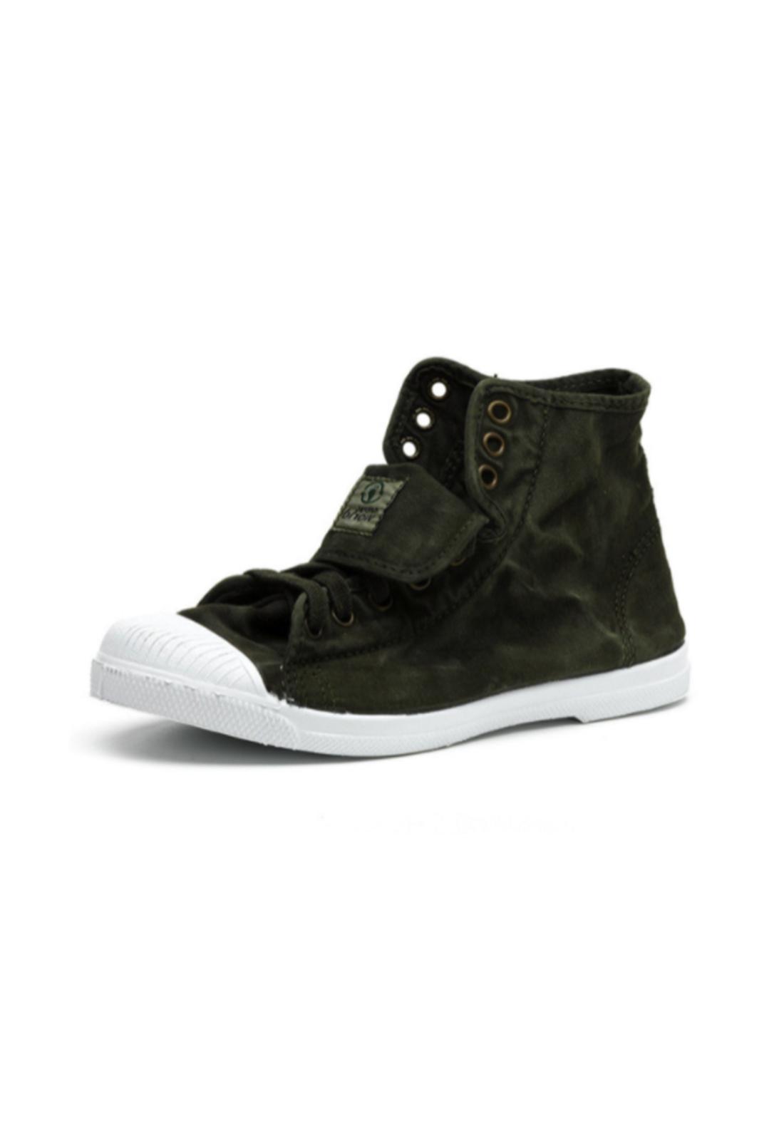 World Natural Eco حذاء كاجول رصاصي اللون من