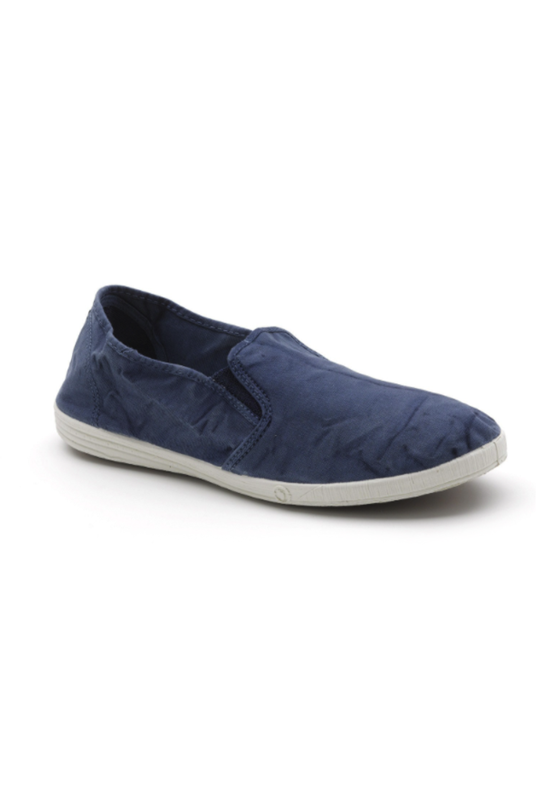 World Natural Eco حذاء كاجول نيلي اللون من