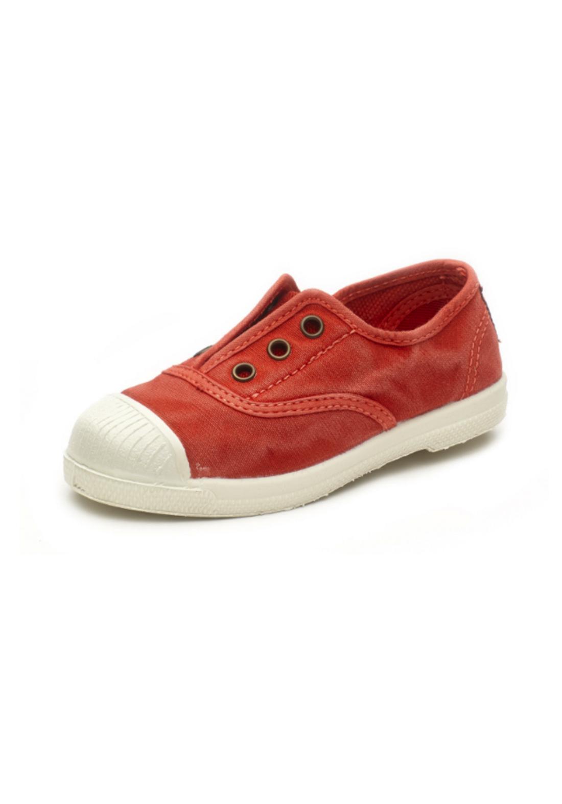 World Natural Eco حذاء كاجول برتقالي اللون من