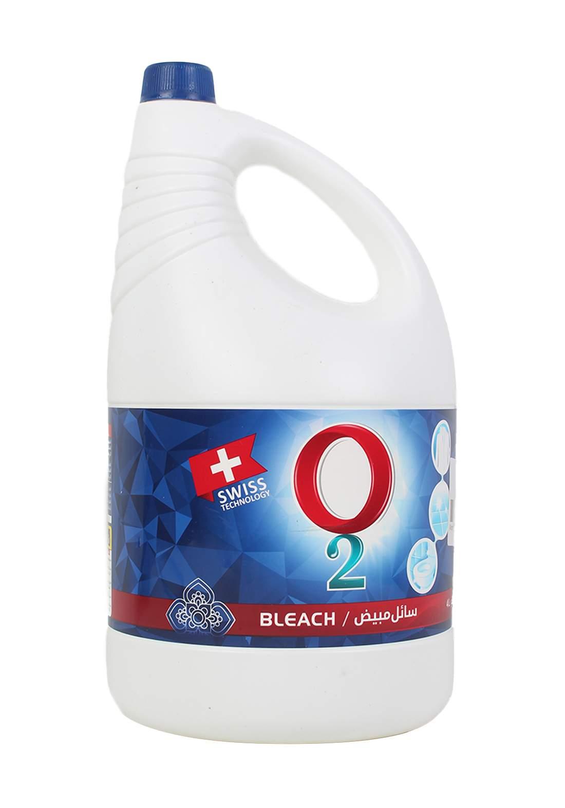 O2 سائل مبيض 4لتر من