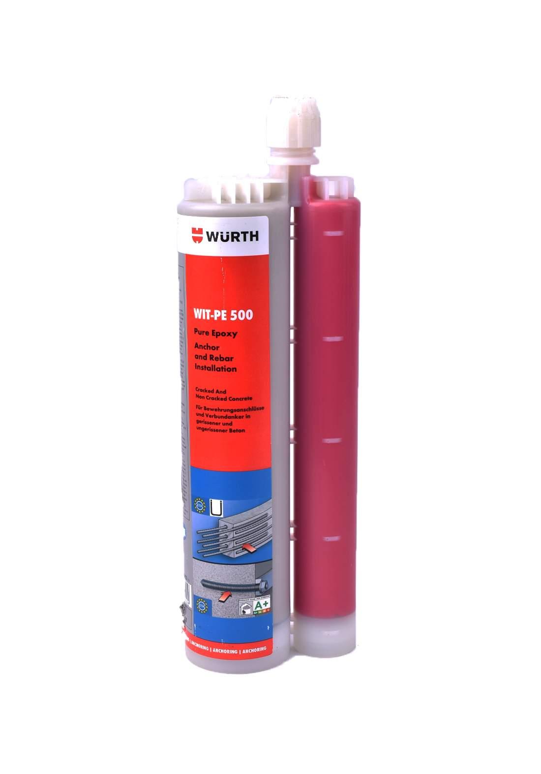 Wurth wit-PE500 Chemical fixative ايبوكسي مثبت مسامير للكونكريت