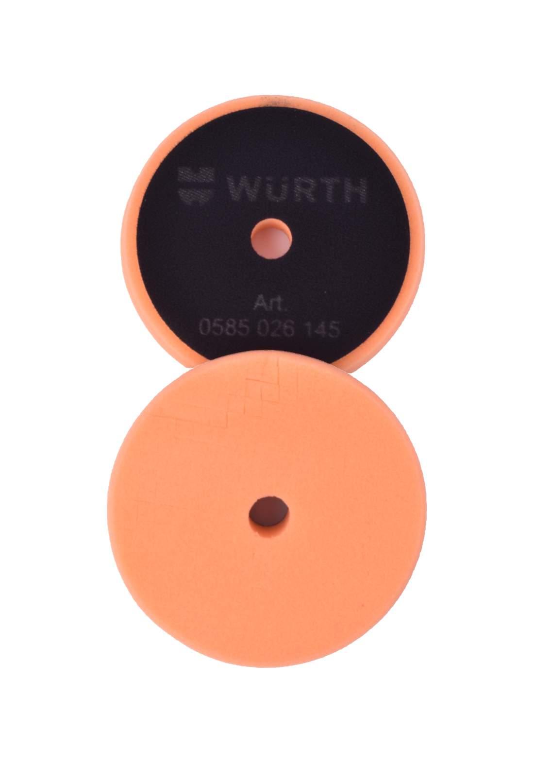 Wurth 585026170 Polishing Sponge Spider Web Orange Soft  اسفنجة بوليش ناعمة
