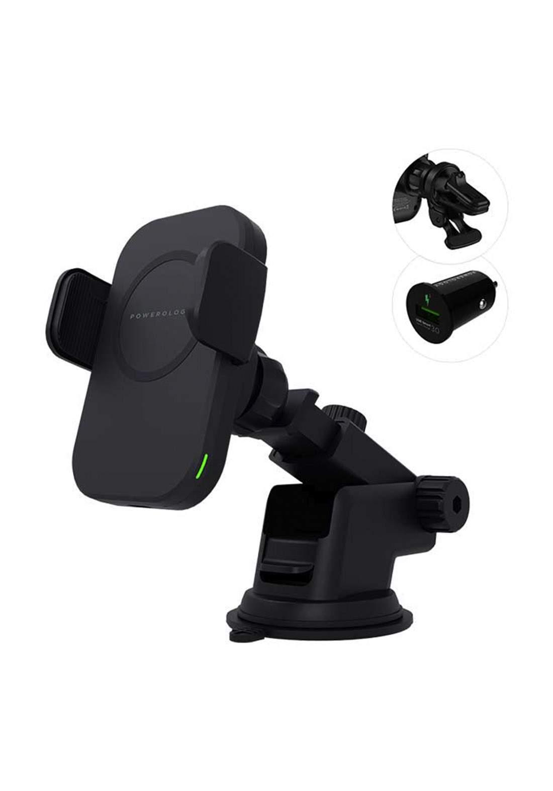 Powerology 15W Fast Wireless Magsafe Mount - Black
