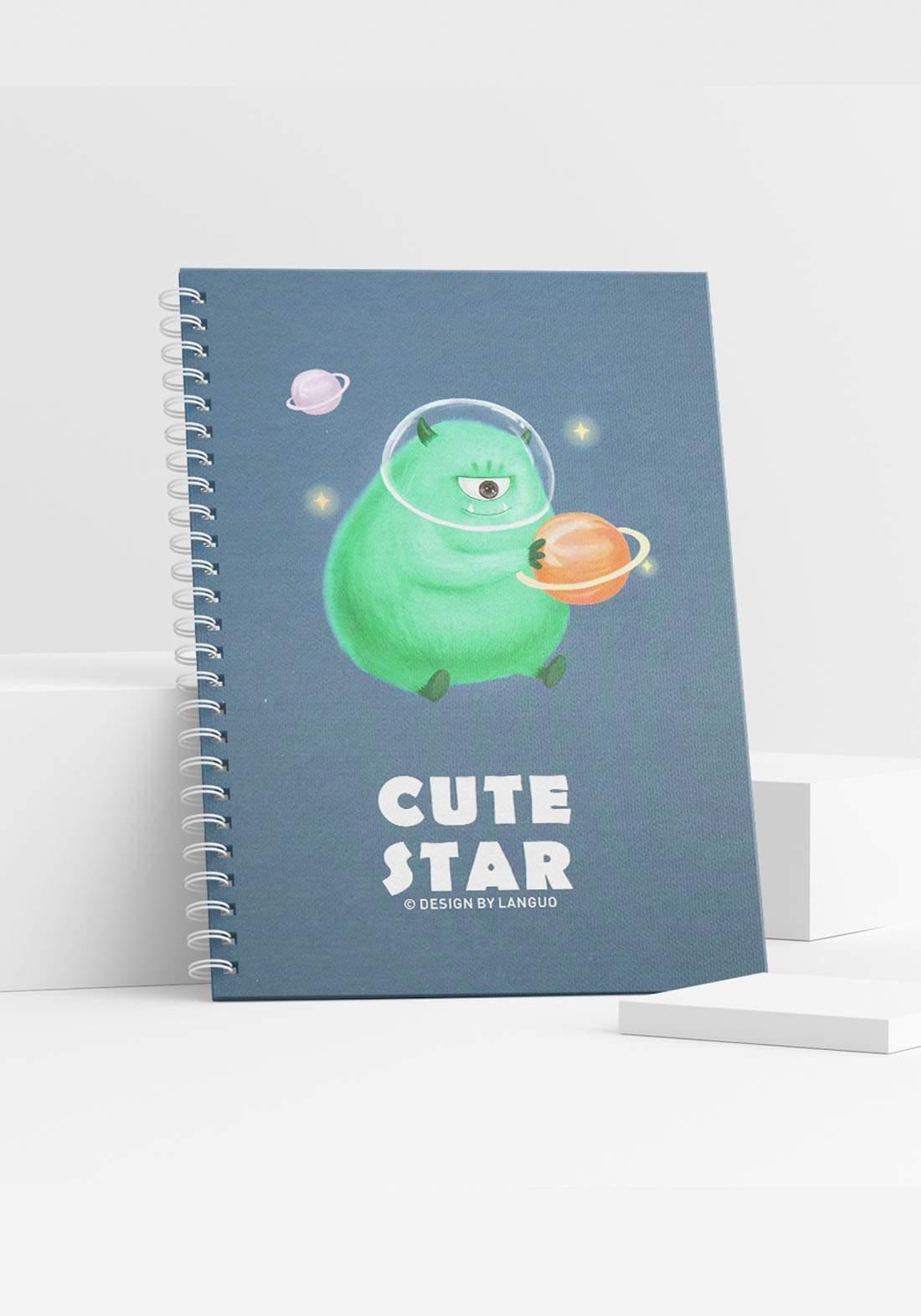Writing Notebook (Lg-22323) 100 Sheets دفتر كتابة 100 ورقة