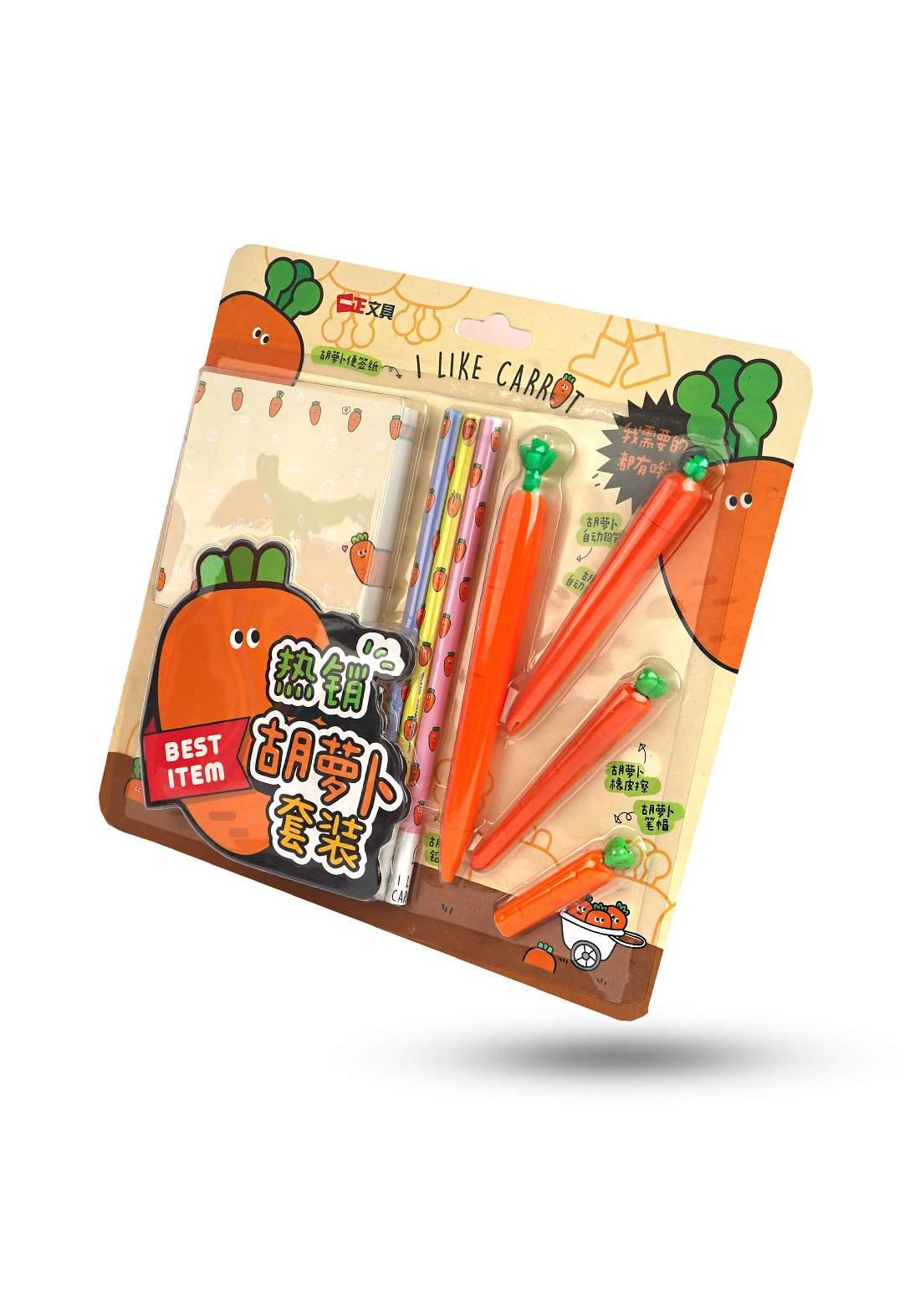 Set of pencils, pens and sticker ( YZ-0029)  سيت أقلام رصاص وأقلام جاف