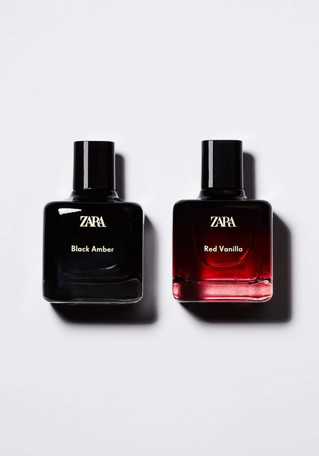 Zara black amber & red vanilla 2*100ml سيت عطور نسائي من زارا