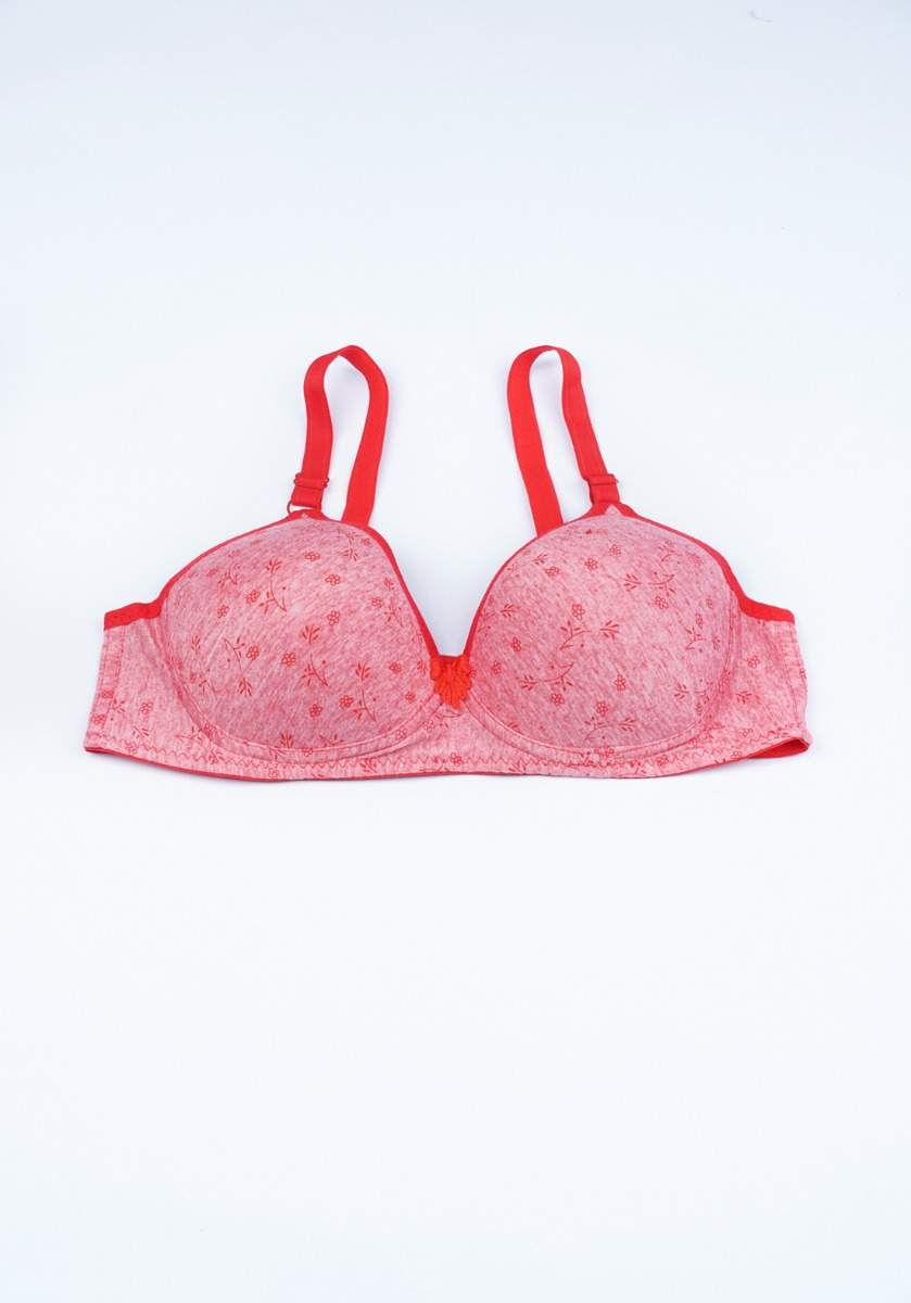 حمالة صدر بناتية وردي اللون