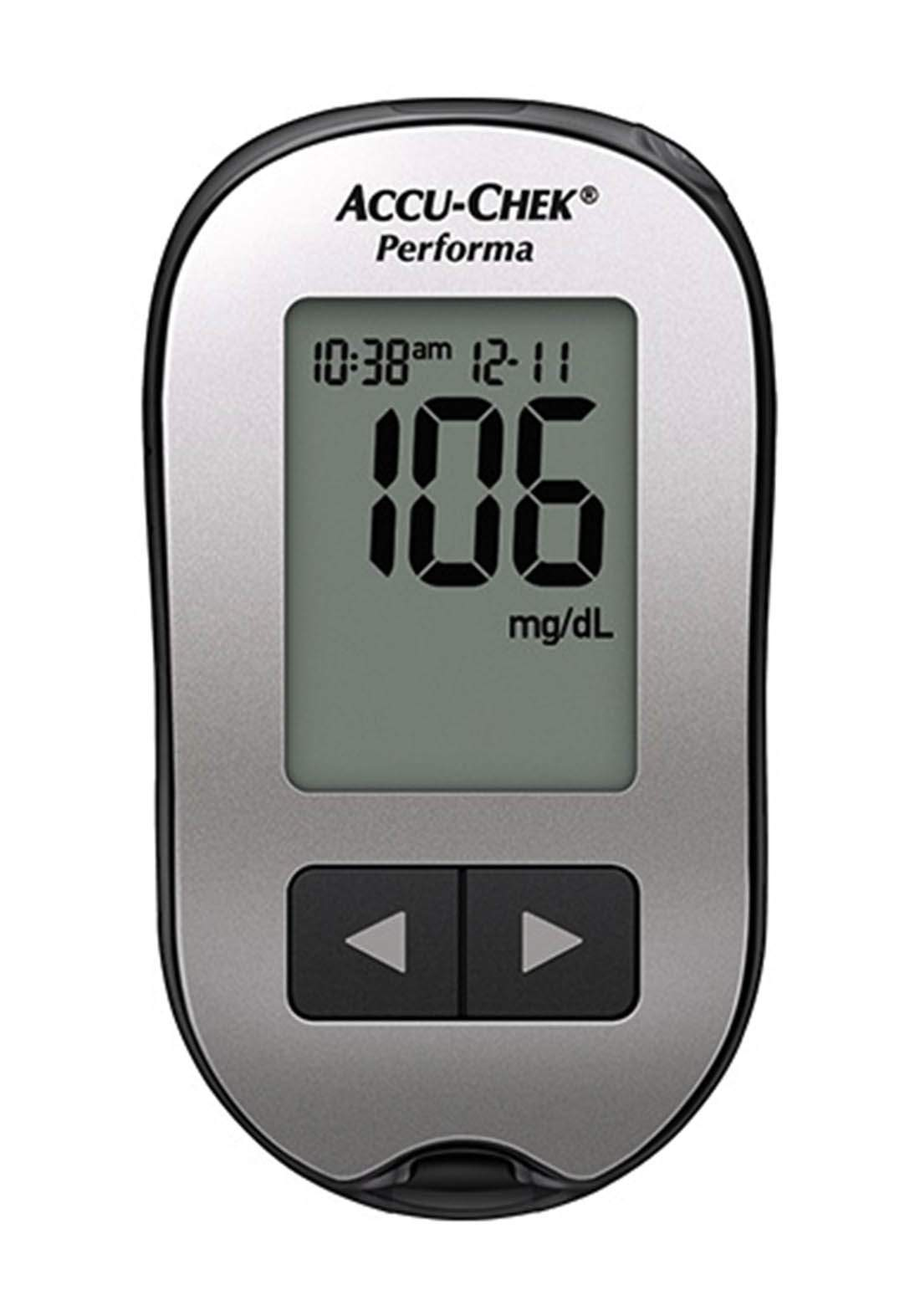 Accu-Chek Performa Glucose Meter Fastclix جهاز قياس نسبة السكر
